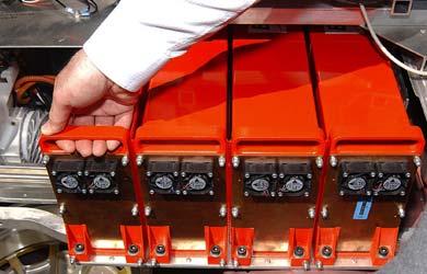 Les batteries des voitures hybrides